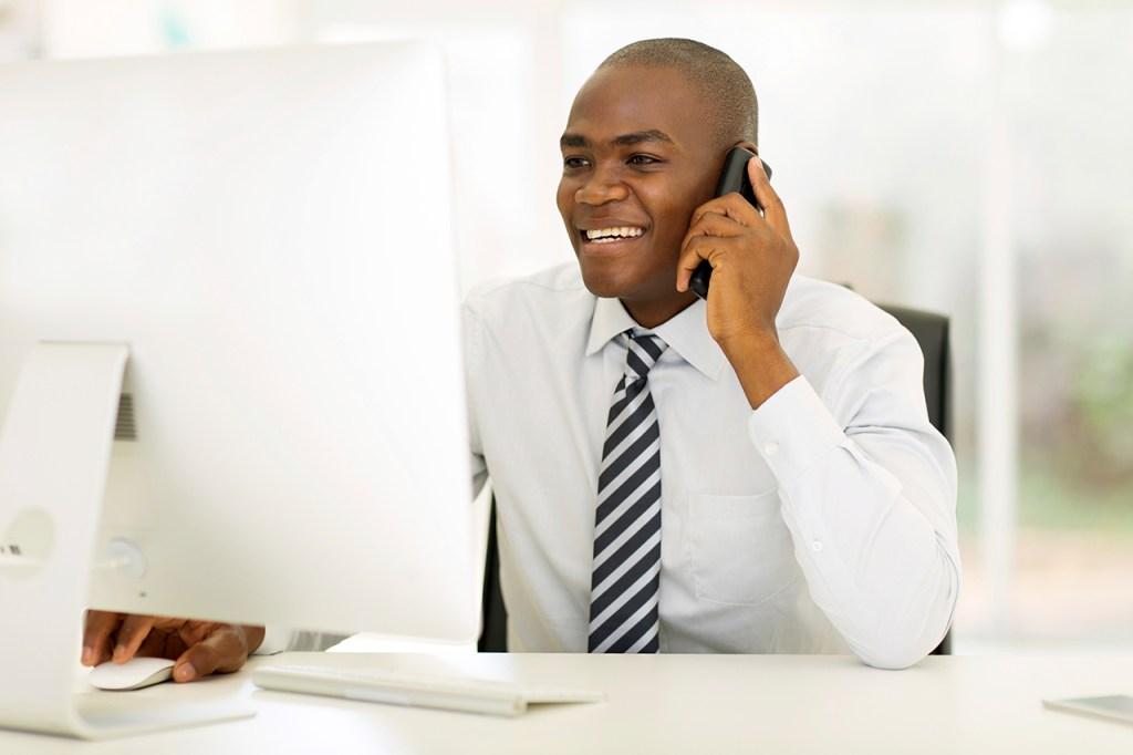 making calls and hiring a contractor