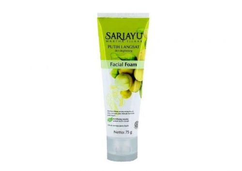 Rekomendasi-Facial-Wash-untuk-Remaja-Sariayu-Putih-Langsat-Facial-Foam