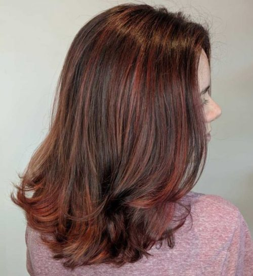 Highlight red brown