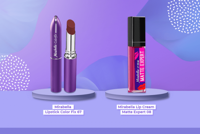 Lipstik ungu gelap