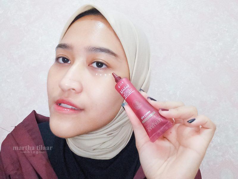 Cara Pakai Sariayu Econature Nutreage Eye Cream