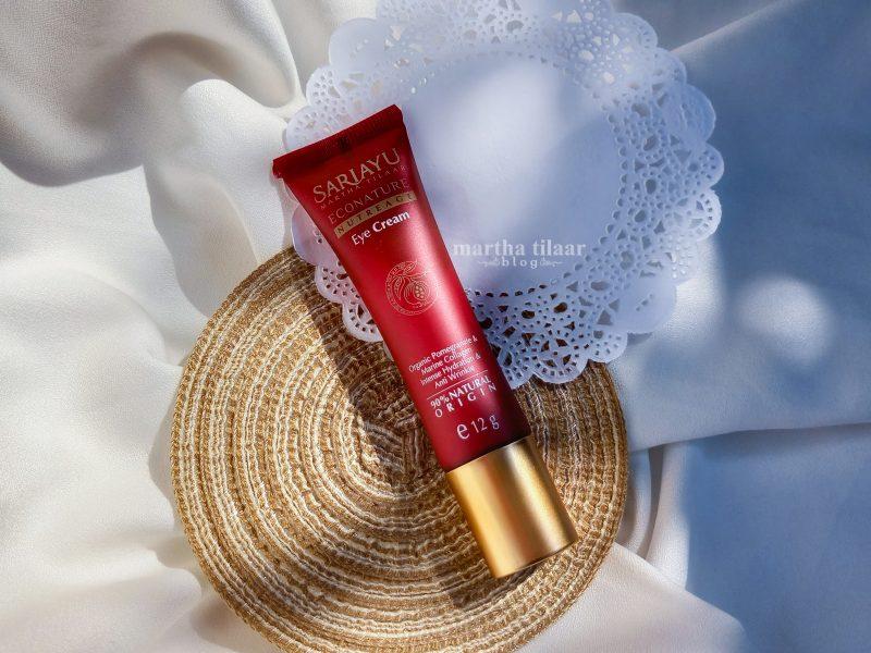 Review Sariayu Econature Nutreage Eye Cream Setelah Pemakaian 1 Bulan