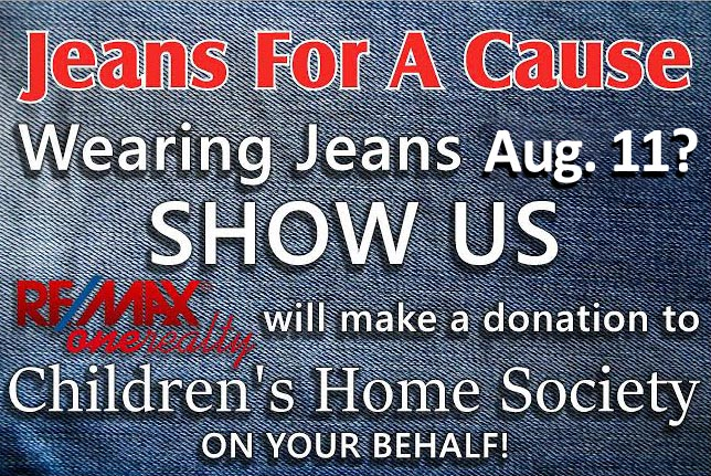 jeans yard sign