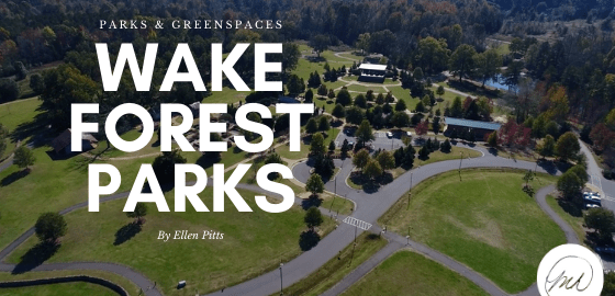 wake forest parks overhead view