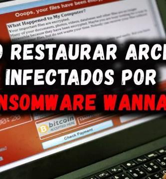 Aprenderás ⭐ QUÉ ES, CÓMO FUNCIONA y sobre todo, cómo ELIMINAR ✅ o remover el virus Ransomware WannaCry y RECUPERAR ARCHIVOS ⭐ dañados por ataque del mismo.