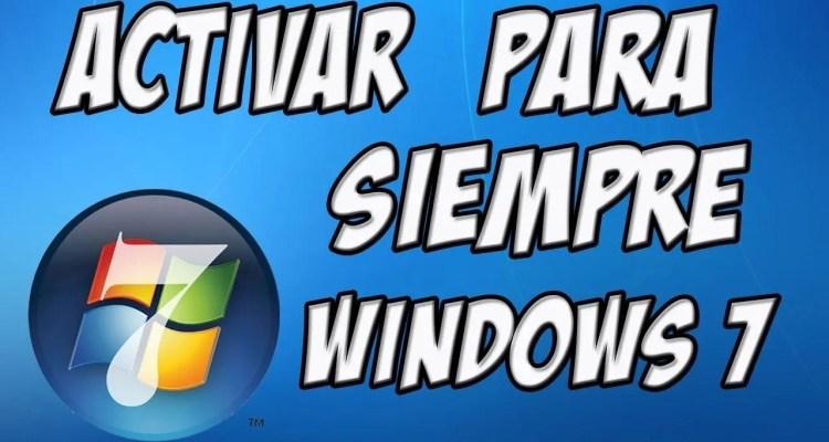 Te enseñaremos cómo es que puedes ACTIVAR WINDOWS 7, en todas sus versiones, para que lo tengas totalmente FULL de por vida.