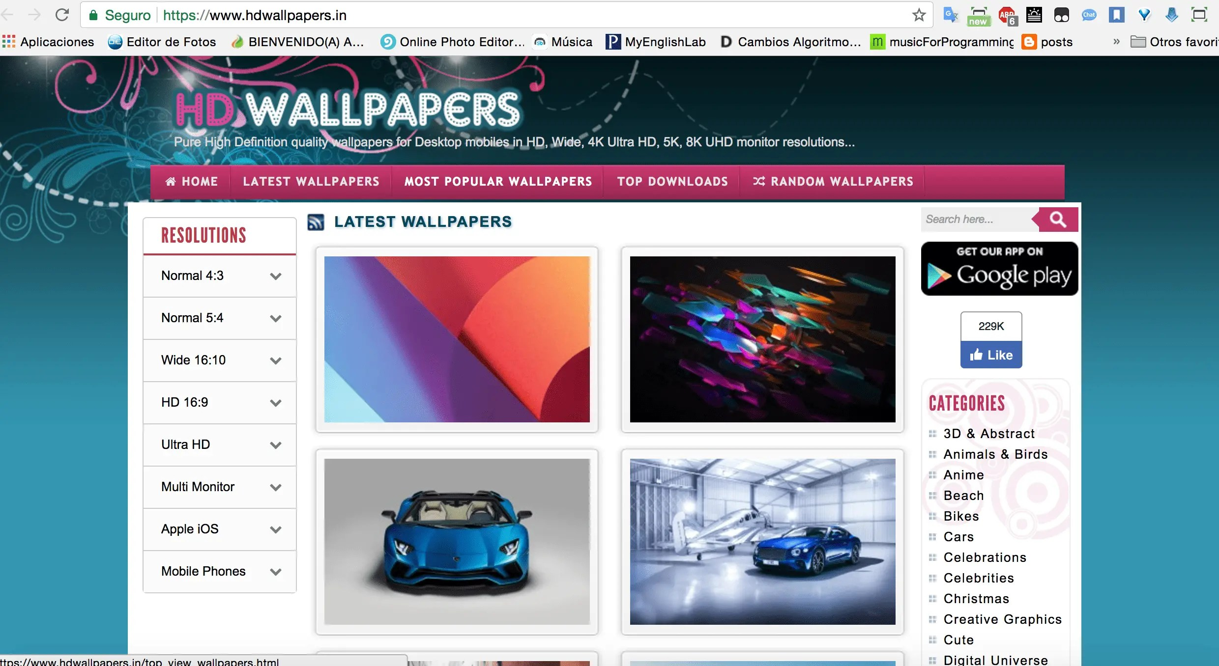how to download wallpapers in full hd