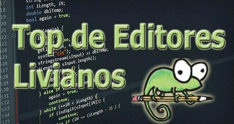 En este post te hablaré acerca de los mejores editores de código livianos que te puedes encontrar para desarrollar tus proyectos de programación. ¡ENTRA!