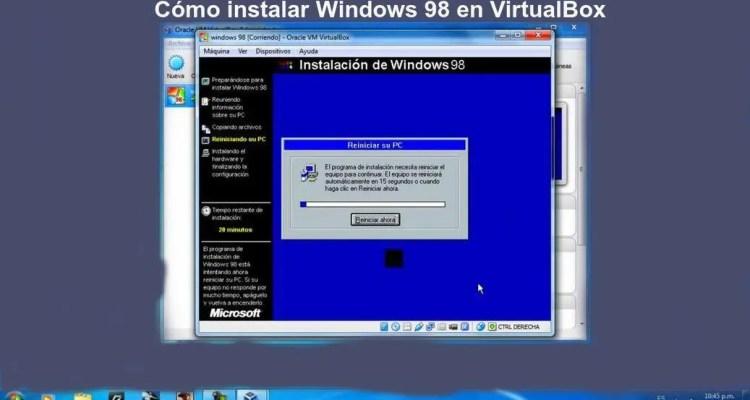 En este post te enseñaremos a cómo instalar Windows 98, un sistema muy antiguo de Microsoft en una máquina virtual, usando VirtualBox. ¡ENTRA!