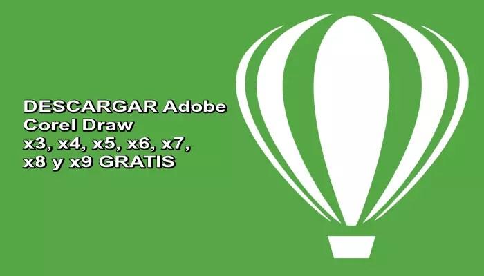 DESCARGA ⭐ Adobe COREL DRAW ⭐ x3, x4, x5, x6, x7, x8 y x9 ✅ de forma gratis y también Full y PORTABLE. El mejor programa de diseño gráfico. ¡ENTRA!
