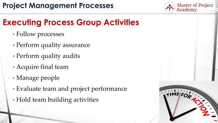 Executing Process Group