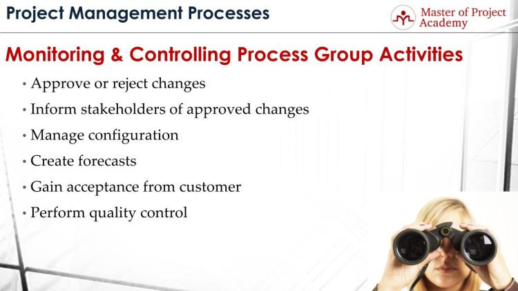 Project Monitoring Controlling