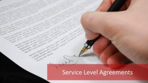 3 Most Common Types of Service Level Agreement (SLA)