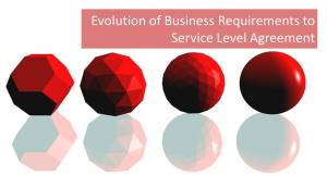 The Evolution of Business Requirements to Service Level Agreement