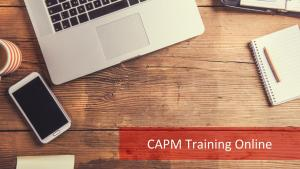 CAPM Training Online: Your 'Anywhere & Anytime' Preparation Partner