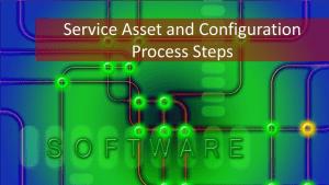 SACM: 5 Key Activities of Service Asset & Configuration Management
