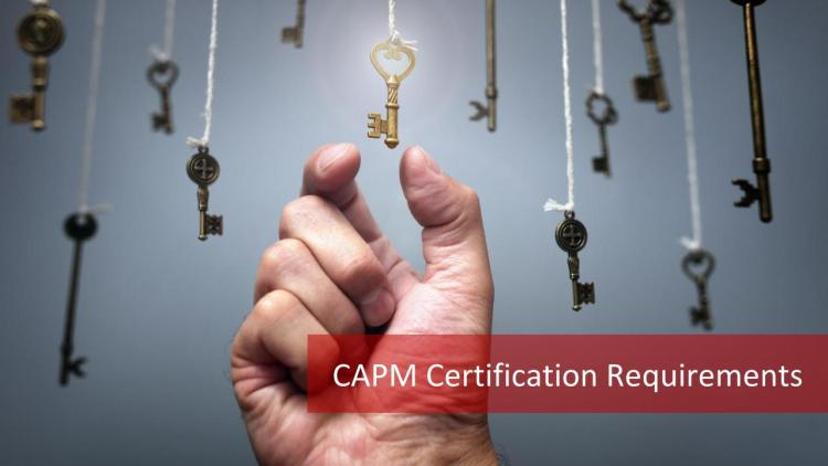 CAPM Certification Requirements