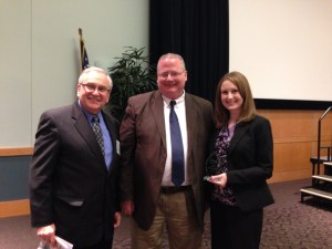 Our President, Bill, Matt Roush, and our Publishing Coordinator, Lindsay