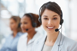 Improve business customer service with these five tips.