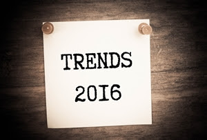 What are the most important projected business trends of 2016?