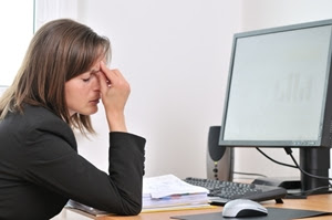 Stress in the workplace has intensified in the past five years.