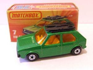 Matchbox MB007 : Volkswagen Golf