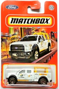 Matchbox MB970 : 2015 Ford F-150 Contractor Truck (Grey window variant)