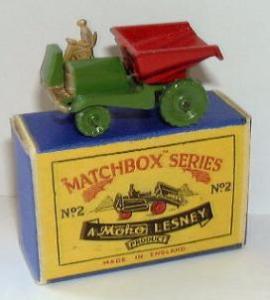 Matchbox 02A : Dumper
