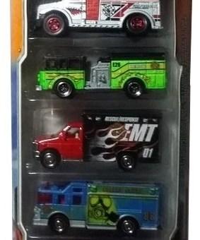 Matchbox 5 Pack : 2012 #05 – EMT