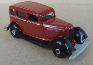 Matchbox MB1087 : 1933 Plymouth Sedan (Coffee Cruisers)