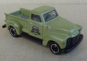 Matchbox MB1130 : 1947 1/2 Chevy 3100 AD Truck (Coffee Cruisers)