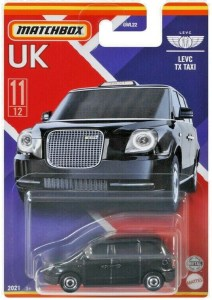 Matchbox MB1208 : LEVC LX Taxi (UK Collection)