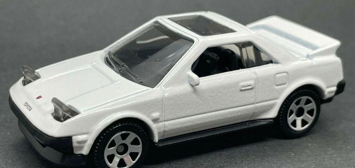 Matchbox MB1240 : 1984 Toyota MR2 (2021 Basic Range - Open Headlights)