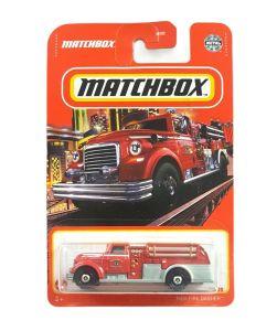 Matchbox MB1233 : MBX Fire Dasher (2021 Basic Release)