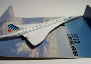 Matchbox SB-23 : Supersonic Airliner (S.S.T) (1979 Issue)