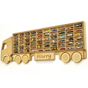 Truck shaped display - Great idea for the kids room