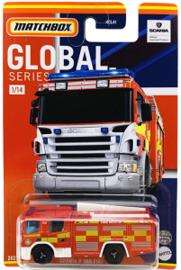Matchbox MB1086 : Scania P360 Fire Engine (Global Collection)