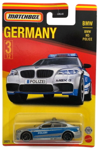 Matchbox MB966 : BMW M5 Police (German Collection)