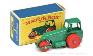 Matchbox 01D : Aveling Barford Road Roller