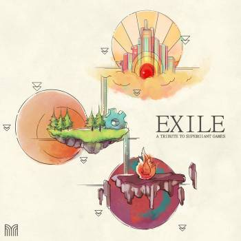EXILE: A Tribute to Supergiant Games album cover art