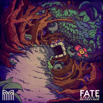 FATE: A Tribute to Majora's Mask album cover art