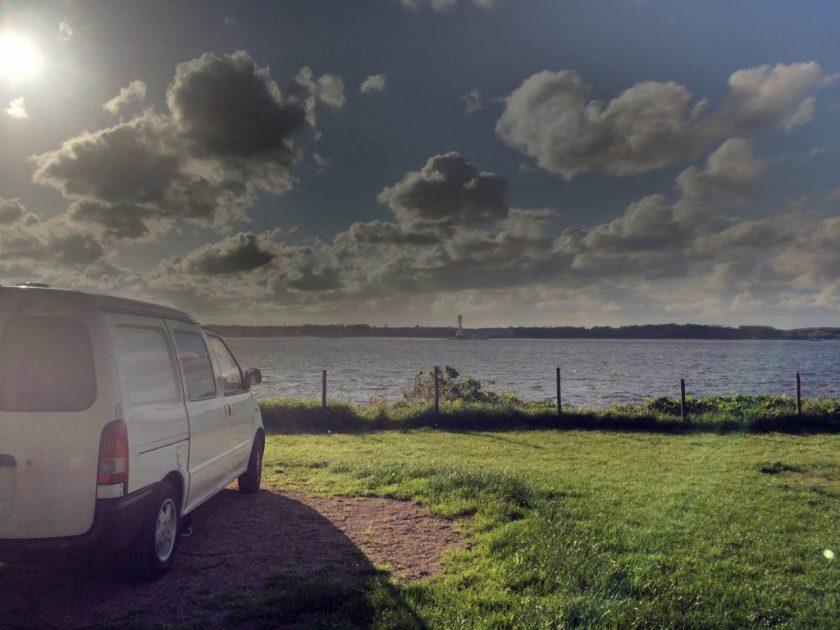 Yksi parhaimmilla näköaloilla olevista kämppäreistä Kielissä.