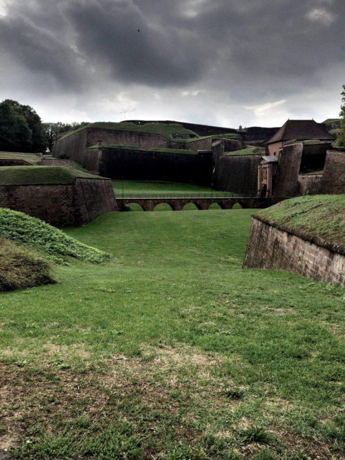 Belfortin linnoitus, Franche-Comté.