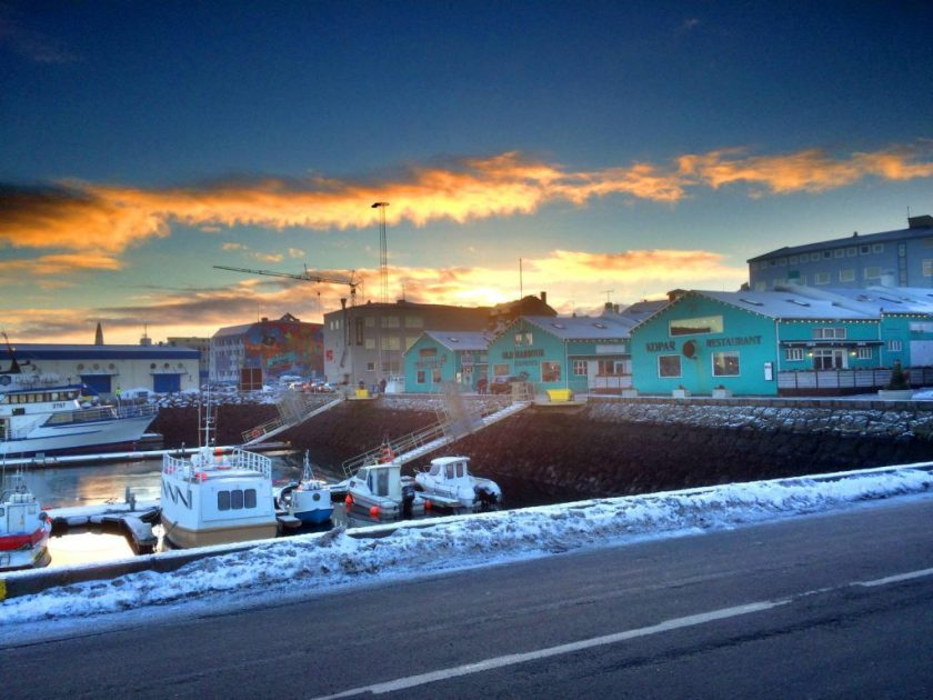 Reykjavikin satama.