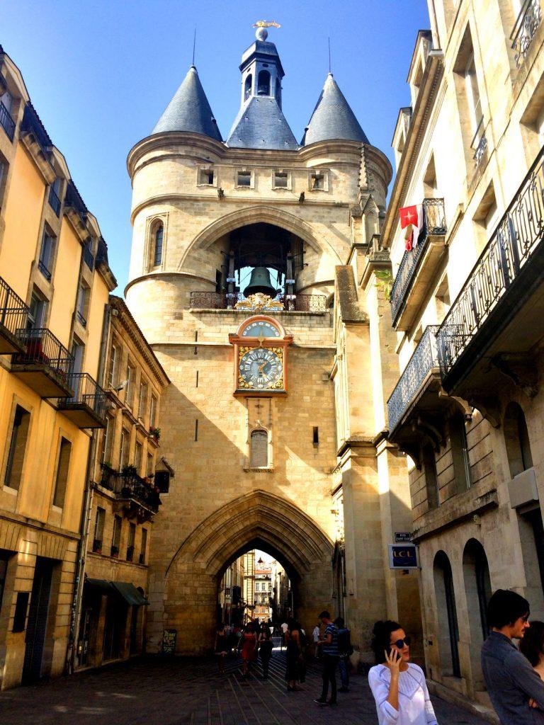 La porte Cailhau Bordeaux'n keskustassa.