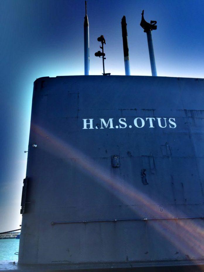 Britannian Kuninkaallisen laivaston sukellusvene museoituna Sassnitzin satamassa.