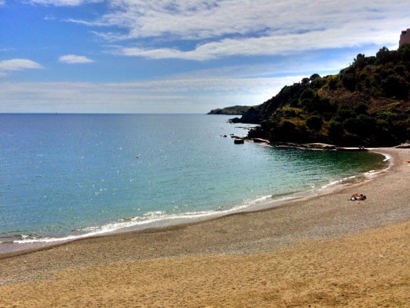 Maisemia Espanjan ja Ranskan rajalta, Banuyls-sur-Meristä.