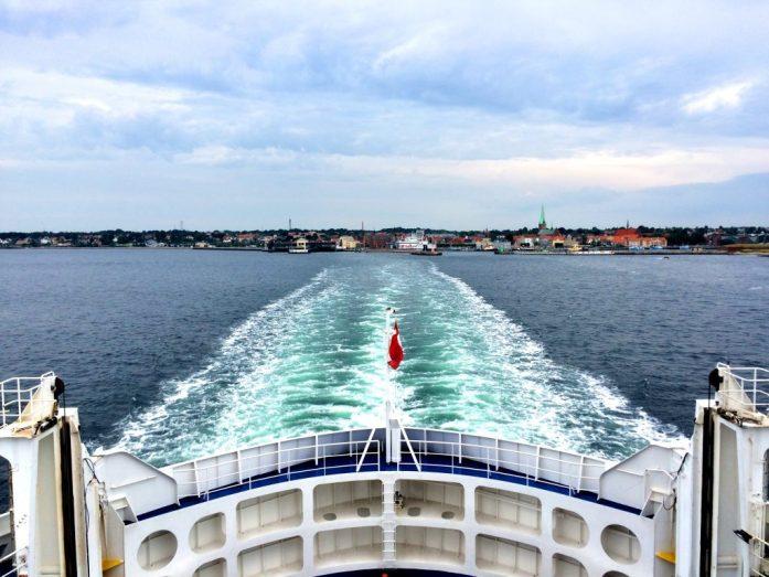 Hyvästit Tanskalle.