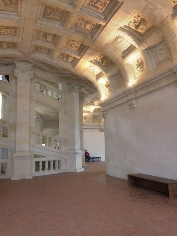 Linnan portaiden sanotaan olevan Leonardo da Vincin suunnittelemat.