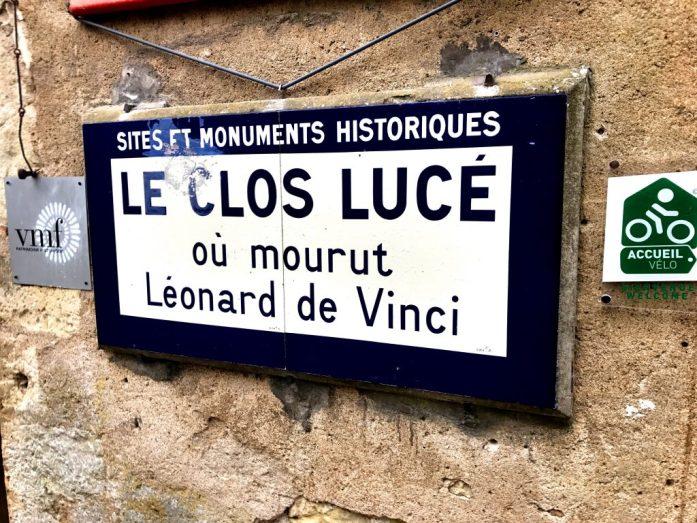 Täällä kuoli Leonardo da Vinci.